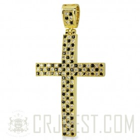 MICRO PAVE LATIN CROSS PEP004-58C1G