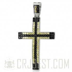 MICRO PAVE LATIN CROSS PEP004-58C2R