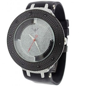 .10 CTW Diamond King Duo Iced Out Hip Hop Men's Watch
